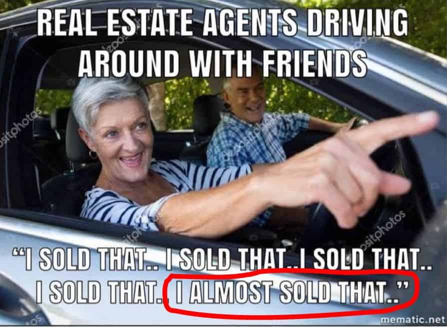 real estate meme